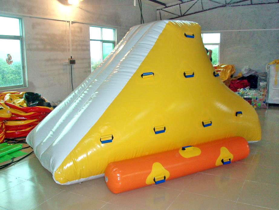 Inflatable Water Floating Climbing Iceberg Small Slide