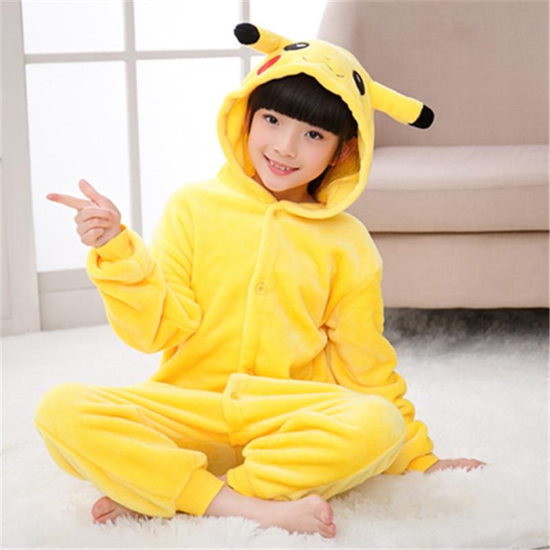 Kid Adult Pikachu Kigurumi Onesie Women Animal Costume Fancy Soft Anime Pokemon Cosplay Onepiece Child Boy Girl Winter Jumpsuit