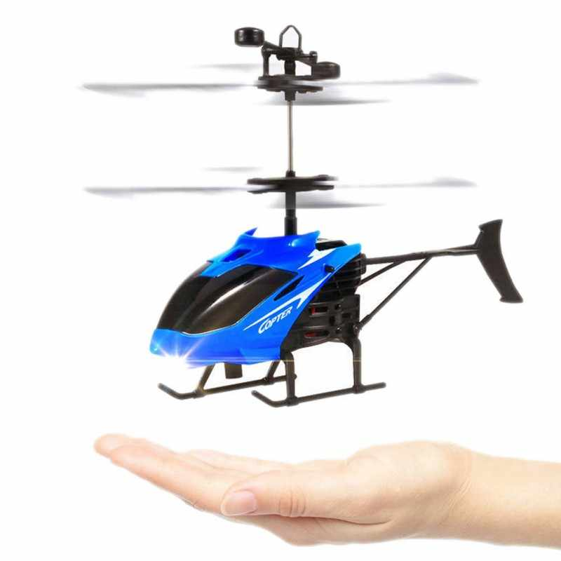 Mini Infrared Sensor Helicopter Aircraft 3D Gyro Helicoptero Electric Micro 2 Channel Helicopter Toy Gift for Kids 2018
