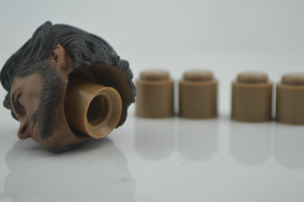 1//6 Giunto collo Peg adattatore del connettore per Hot Toys Custom Corpo TESTA SCOLPIRE