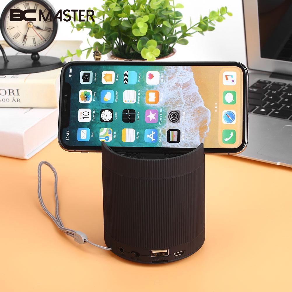 Premium Loudspeaker Soundbox Wireless Bluetooth Speaker Sound Power Bank Mobile Phone Support TF Card 5W Bass