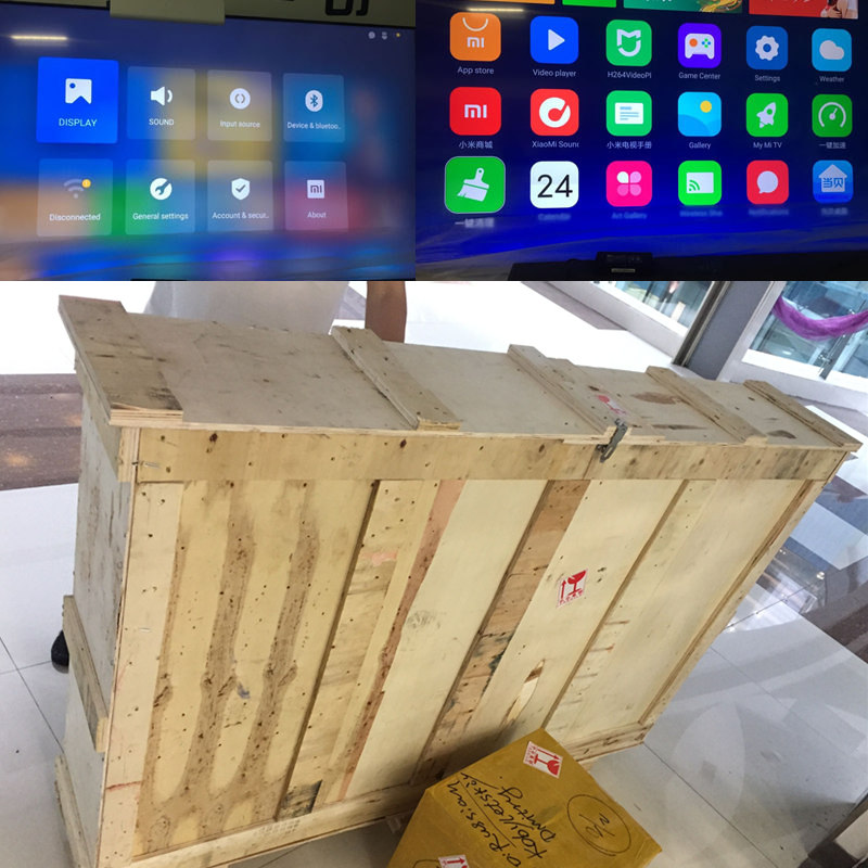 Orijinal Xiaomi Mi Mural TV Yastığı 65 Inch 2G + 32G Smart TV Ev - Evdə audio və video - Fotoqrafiya 6