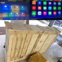 Oryginalny Xiao mi mi Mural TV Pad 65 cali 2G + 32G Smart TV kina domowego prawdziwe 4K HDR Ultra cienki telewizji Subwoofer DOLBY DTS telewizor z dostępem do kanałów 6