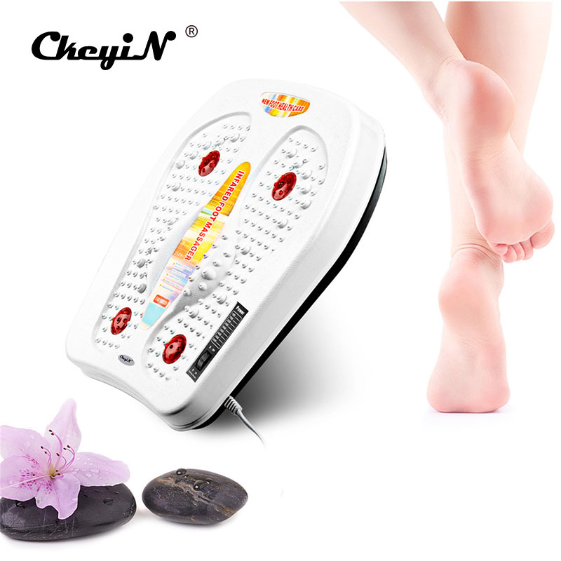Heating Electric Far <font><b>Physical</b></font> Infrared Therapy <font><b>Vibration</b></font> magnetic <font><b>Wave</b></font> Foot Massage Pedicure Machine Physiotherapy Instrument
