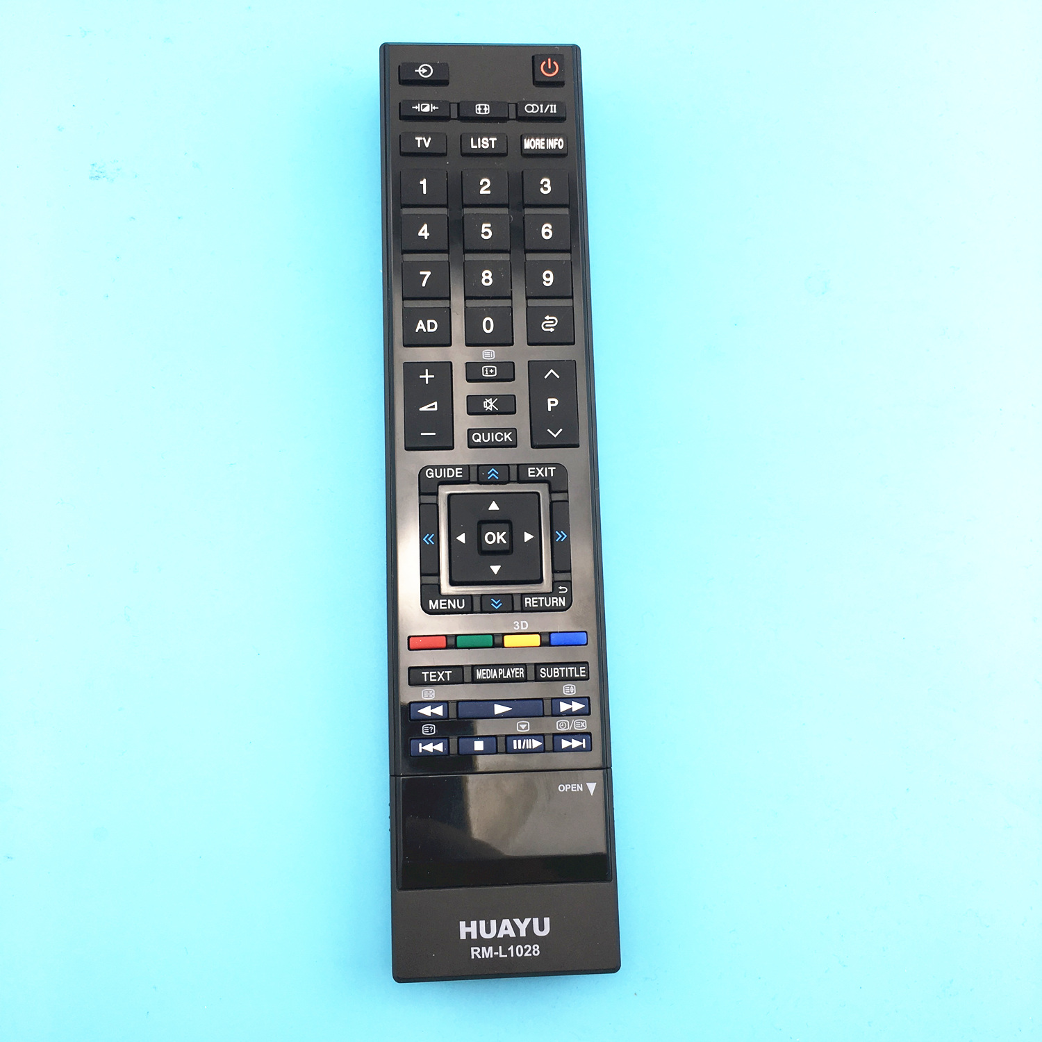 suitable <font><b>for</b></font> toshiba tv <font><b>remote</b></font> <font><b>control</b></font> controller ct-90345 ct-90356 ct-8026 and more model