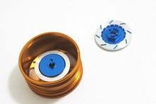 4pcs/ Set Alloy Metal Wheel Rim Brake Disc Hex 12mm Diameter 32mm For HSP 1:10 RC Car Spare Parts Fit Redcat Himoto Racing