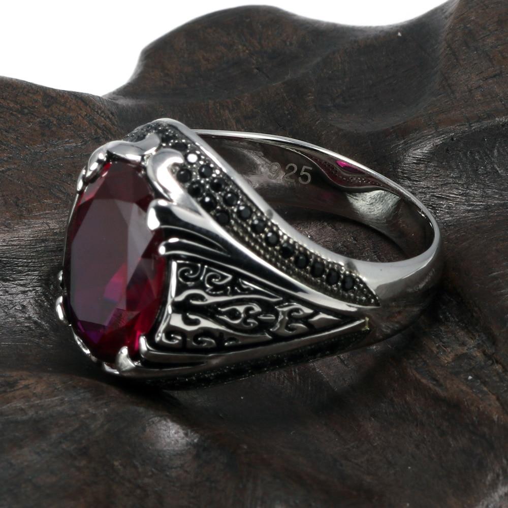 HTB1fK0Eax2rK1RkSnhJq6ykdpXaP Luxury Turkish Jewellery For Men With Zircon Stone