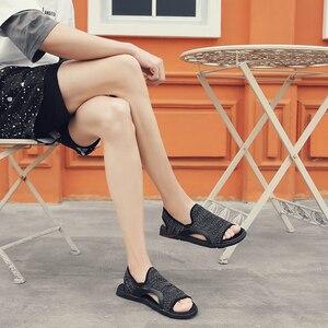 Image 3 - Thời Trang Người Đi Biển Lưới Giày Sandal Mùa Hè 2019 Ngoài Trời Cho Nam Chống Trượt Giày Thường Thoáng Khí Krasovki Tenis Dép Nóng