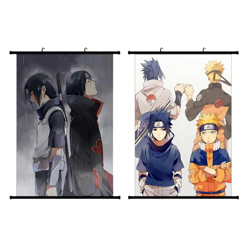 2019 Japanese Anime Naruto Itachi Uchiha Wall Poster Canvas Scroll Painting Home Wall Print Modern Art Decor Poster