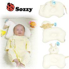 Мягкая детская подушка из органического хлопка 4 типа