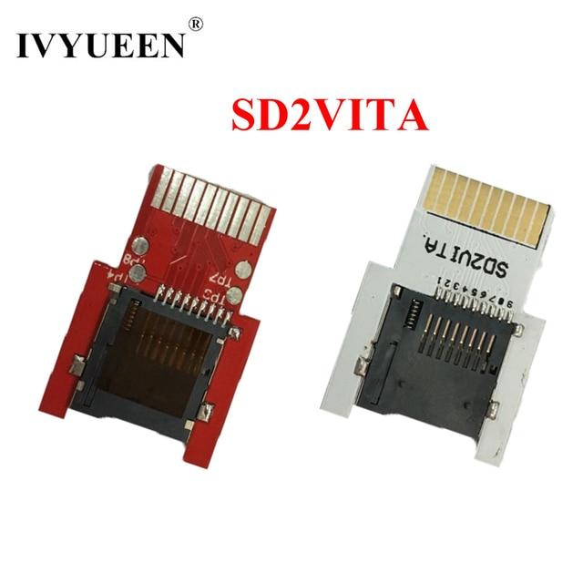 Ivyueen SD2Vita用psvitaゲームカードにマイクロsd/tfカードアダプター用のpsヴィータ1000 2000 sdメモリーカード