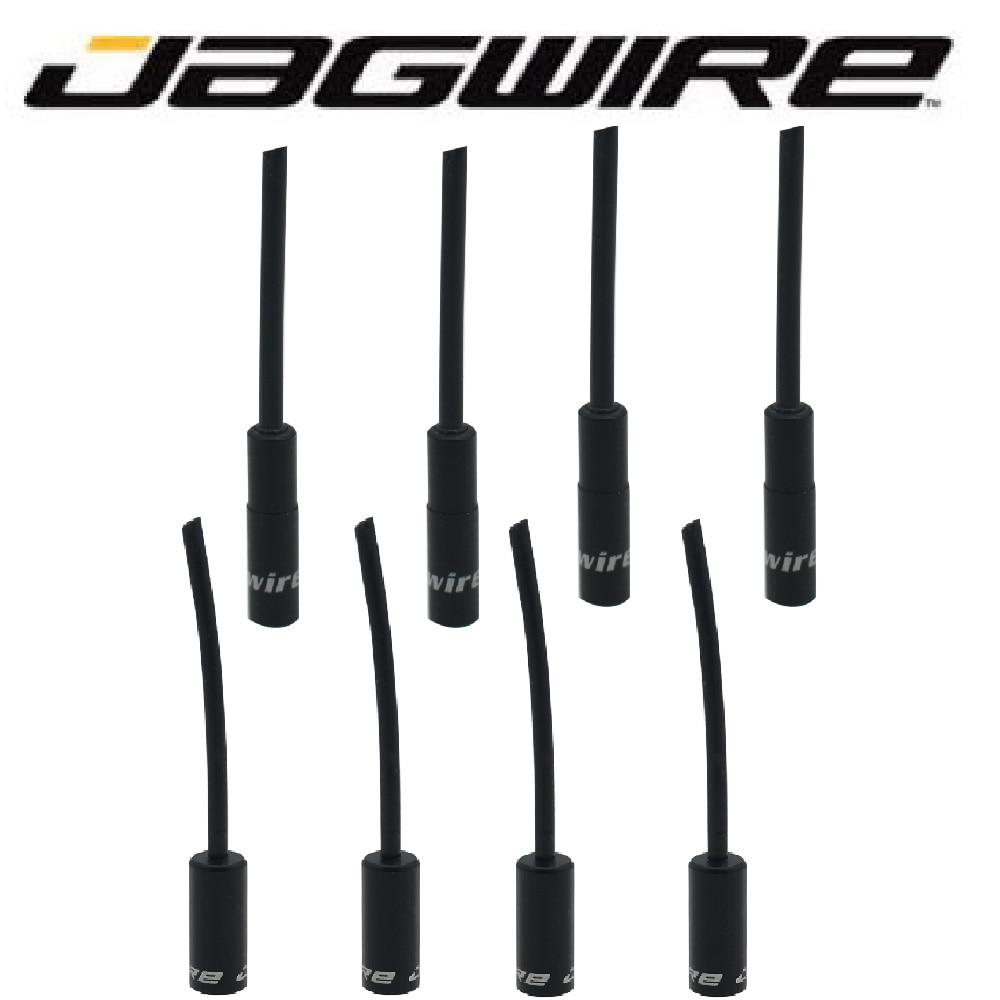 Jagwire MTB Mountain Road Bike Alloy Aluminum 5mm Brake Cable Housing Ferrules Tube End Cap 4.5mm Shifter Derailleur Wire Tip