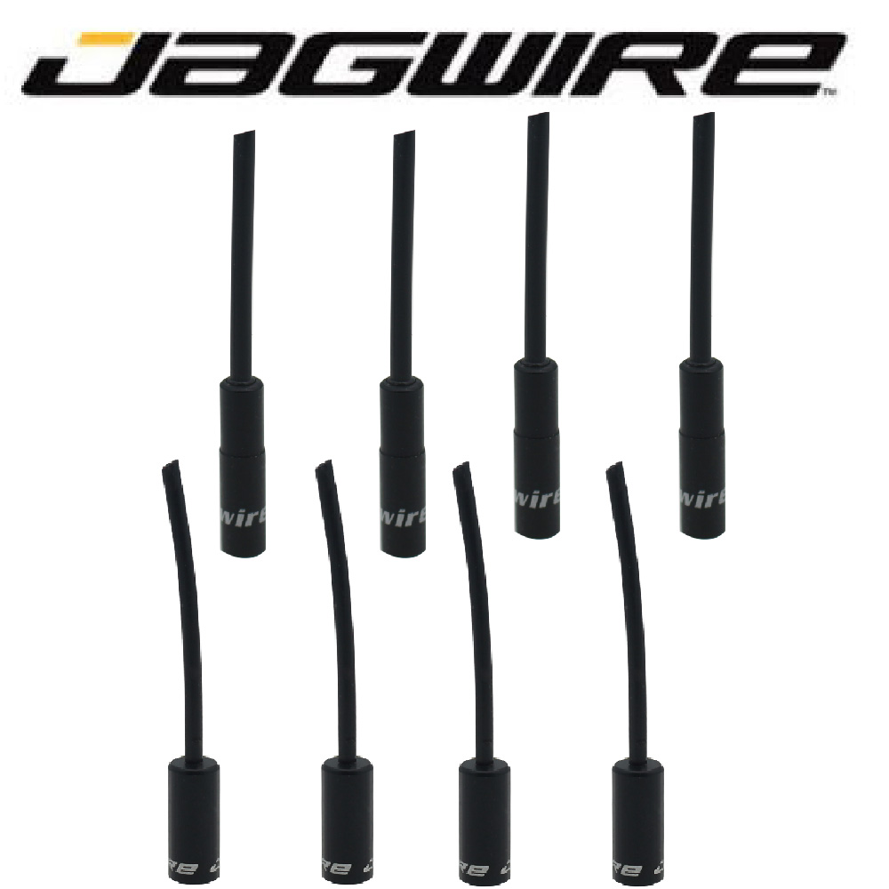 Jagwire MTB Mountain Road Bike Alloy Aluminum 5mm Brake Cable Housing Ferrules Tube End Cap 4.5mm Shifter Derailleur Wire Tip