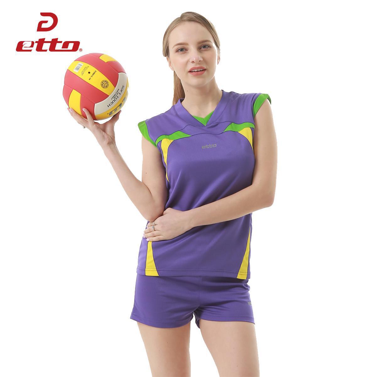 Etto профессиональные волейбольные майки Женский спортивный костюм для