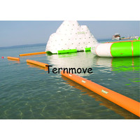 Water Floating Inflatable Water Iceberg ,Water Island Floating Platform Water Park Floating Inflatable Ice Tower Mountain