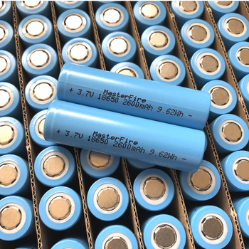 18pcs/lot MasterFire 18650 2600mah 3.7V 9.62Wh Li-ion Rechargeable Battery Lithium Batteries For Flashlights Torch