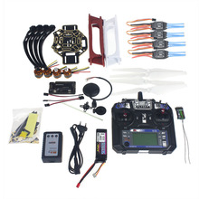 Full Set RC Drone Quadrocopter 4-axle Aircraft Kit F450-V2 Frame GPS APM2.8 Flight Control Flysky FS-i6 Transmitter F02192-Y
