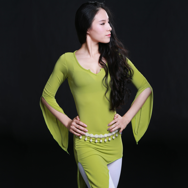 Belly Indian eastern hair swinging baladi dance costumes Bellydance oriental dancing costume clothes bra belt skirt dress 3117