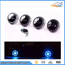 4Pcs/lot Solar Energy Power LED Car Wheel 12Leds Solar Powered shinning wheel hub light waterproof Tire Lamp Wholesale
