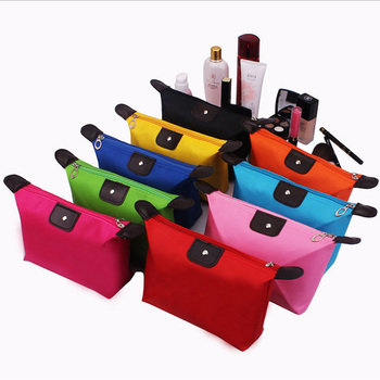 Women Travel Toiletry Make Up Cosmetic pouch bag Clutch Handbag Purses Case Bag for Cosmetics Makeup Organizer - sale item Special Purpose Bags