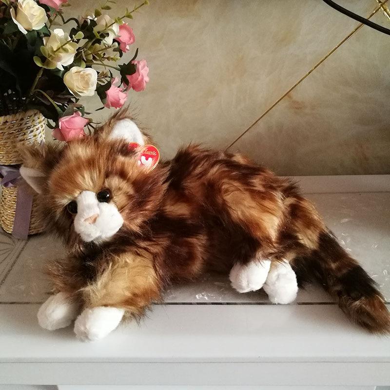 a808cd2f933 40cm Original Ty Classic Cat Plush Toy Stuffed Animal Doll Shadow ...