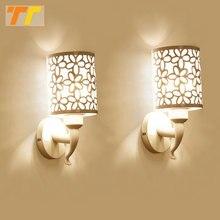 Настенные светильники 2 шт., комнатные лампы в простом стиле для спальни, настсветильник бра, лампа для постельного белья, креативная лестница, гостиная