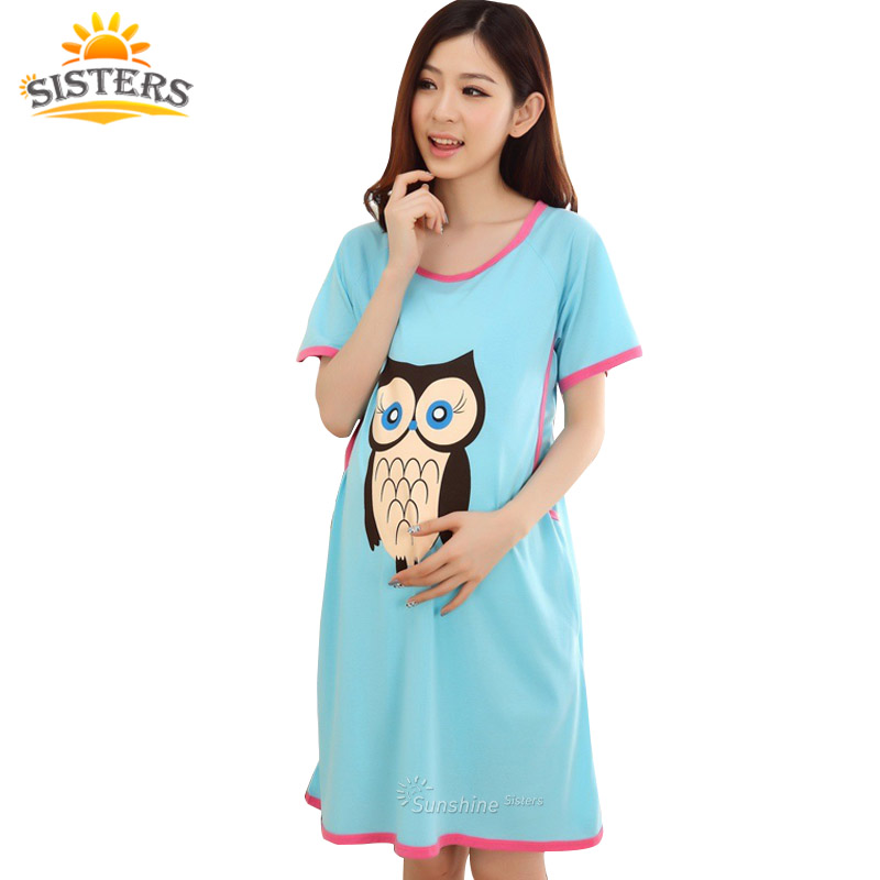 15e99d70010 Detail Feedback Questions about Cotton Maternity Sleepwear Pregnant Women  Pajamas Nursing Breast Wear Lactation Clothing For Feeding Nursing Clothes  ...