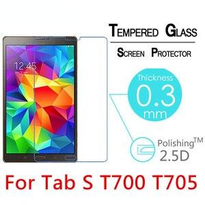 Взрывозащищенное Закаленное стекло 2.5D для samsung Galaxy Tab S 8,4 T700 T705 8,4