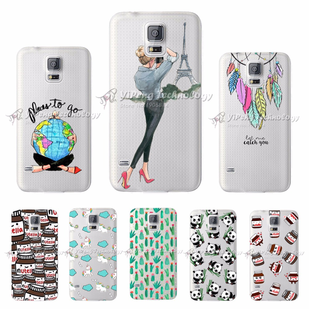 Soft Silicone Phone Case For <font><b>Samsung</b></font> S5 mini <font><b>G800f</b></font> G800 Cover Case For Coque Protector <font><b>Samsung</b></font> S5 Mini <font><b>G800f</b></font> Back Cover Bumper image