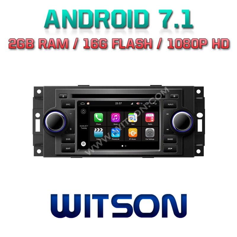 WITSON S190 CAR DVD For CHRYSLER 300C TP Cruiser DODGE Ram
