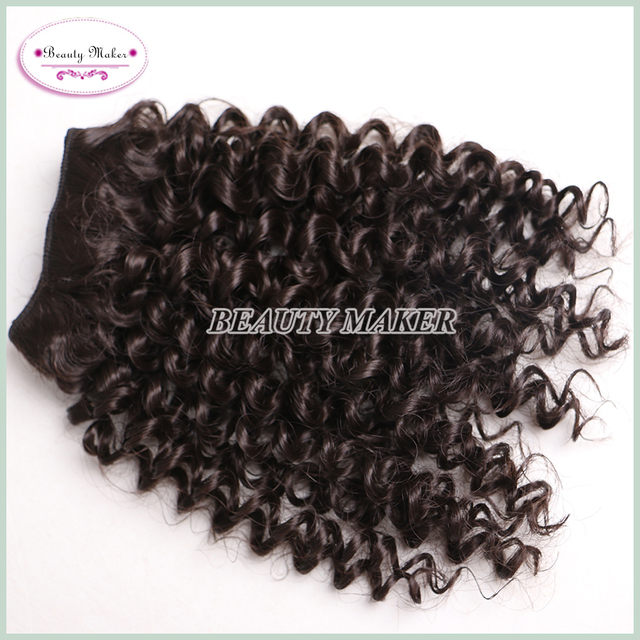 Romance Afro Kinky Curly Hair Weave Synthetic Fashion Bebe Curl Best