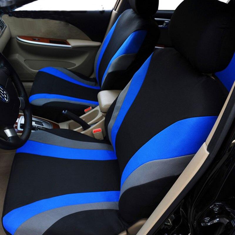 Tampas de Assento Do Carro de alta Qualidade Universal Fit Poliéster 3 MM Composto Esponja casos acessórios tampa de assento do carro Estilo Do Carro lada M26