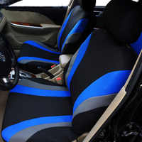 High Quality Car Seat Covers Universal Fit Polyester 3MM Composite Sponge Car Styling lada car cases seat cover accessories M26