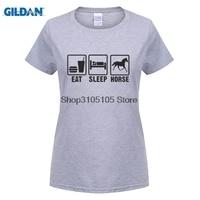 GILDAN Women Fashion T Shirt Hip Hop Novelty T Shirts Brand Clothing O Neck Women Eat