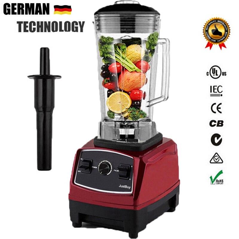 220 240V 2L Commercial Blender Fruit Smoothie Ice Mixer Blender Juicer Machine