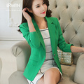 2016 spring and autumn blazer women outerwear short design slim casual long-sleeve plus size elegant female suit jacket tops
