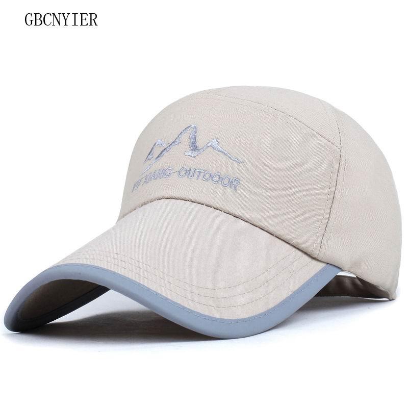 GBCNYIER 2018 New Style Female Sport Hat Bone Brim Short Baseball Cap Women Stroll Leisure Sun Hats Male Summer Sports Golf Caps