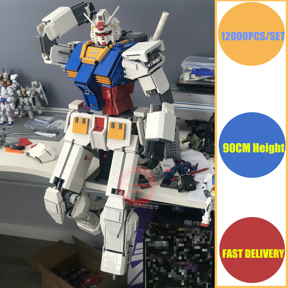 Jouet enfant bricolage cadeau super-héros MOC japon Anime Robot fit legoings gundam technique militaire modèle bloc de construction briques de noël