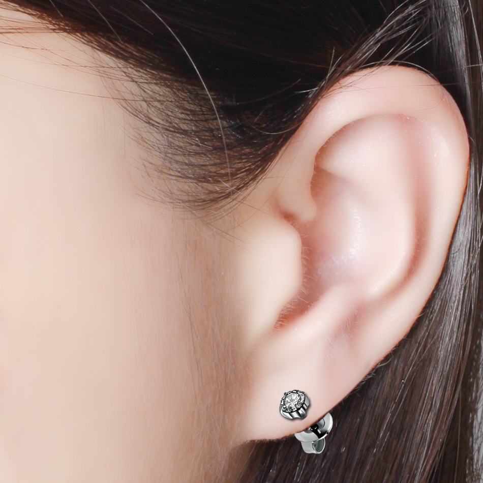 1pc Disposable Safe No Pain Sterile Ear Piercing Gun Piercer Tool