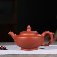 130ml Mini Purple Clay Teapot Yixing Purple Clay Pot Zisha Tea Set Raw Mine Clear Cement Milk Teapot Genuine Yixing Teapot