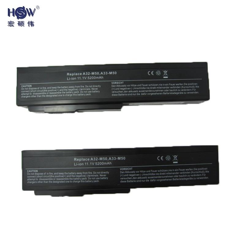 Laptop akku für asus a32-m50 a32-n61 a32-x64 a33-m50 m50 m60 n43 N43J...