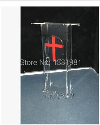 Small Cheap Acrylic Lectern / Plexiglass Pulpit / Perspex Rostrum Acrylic Desktop Lectern Cheap Acrylic Lectern Plexiglass