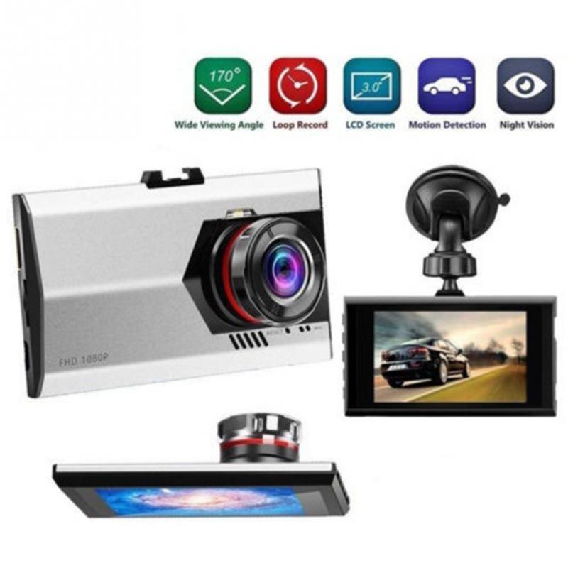 """imágenes para 2017 Ultra delgada 3.0 \ """"140 Grados 1080 P Coche DVR Cámara de Vídeo Grabador Dash Cam Dashcam Detección de Movimiento"""