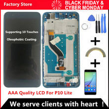 5.2 AAA Qualidade LCD Com Frame Para O HUAWEI P10 Polegada Lite Lcd Screen Display Para HUAWEI P10 Lite WAS-LX1 WAS-LX1A WAS-LX2 WAS-LX3(China)