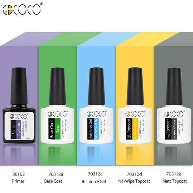 Gdcoco Comestic Factory Supply Wholesale Nail Art Paint Gel 50 Color