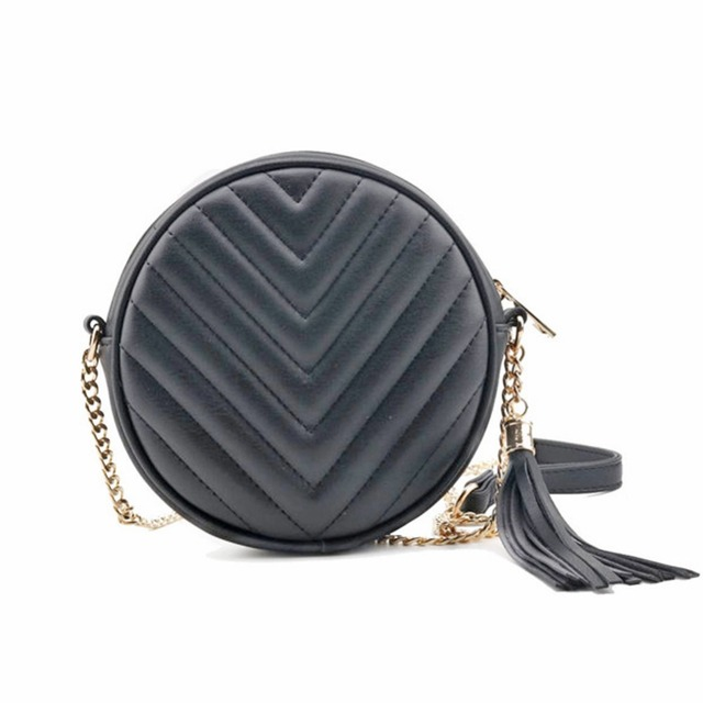 f95ea3b625f Round shape purse classic quilted circle crossbody bag for women shoulder  bag luxury design