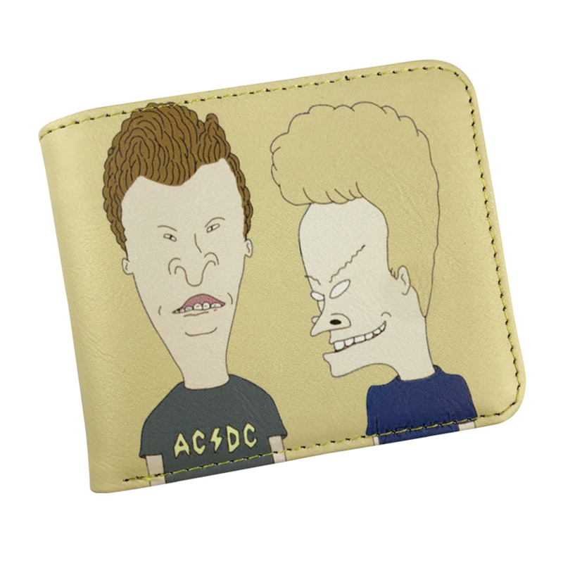 FVIP High Quality Short Wallet Anime Beavis and Butt-head / Rick And Morty Bifold Wallets