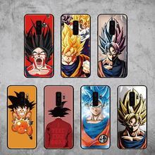 For Samsung Galaxy S8 S9 S10 S10e Plus E lite Note 8 Note 9 Dragon Ball Goku Super DBZ Cool Soft Bumper Phone Case(China)