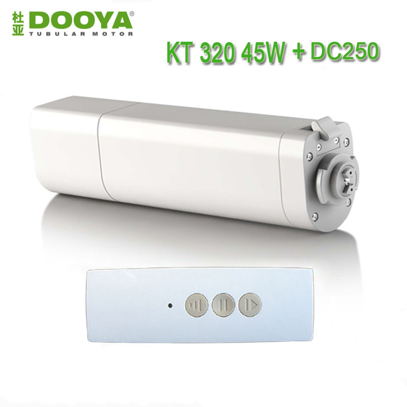 Dooya Home Automation Electric Curtain Motor Single Channel Emitter Remote  Control Curtain Motors 220v Electric Curtain