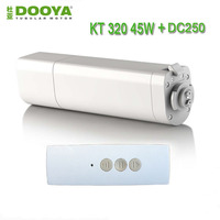 2016 Hot Sale Original Dooya Home Automation Electric Curtain Motor KT320E 45W Dooya DC250 Single Channel